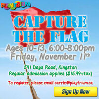 Youth Capture the Flag at Playtrium