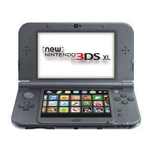 *new* 3DS XL Console - Black + Charger & Case
