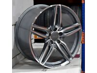 "19"" E-Class Twin Spoke style wheels and tyres suitable for a Mercedes C-Class Mercedes Etc"