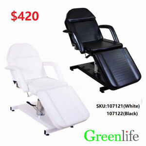 Hydraulic Facial Tattoo Spa Salon Massage Bed Table Chair $420