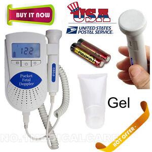 Sonoline B Fetal doppler /Backlight LCD, baby heart monitor, 3mhz probe+Gel, FDA