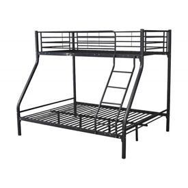 Triple bunk bed and mattress