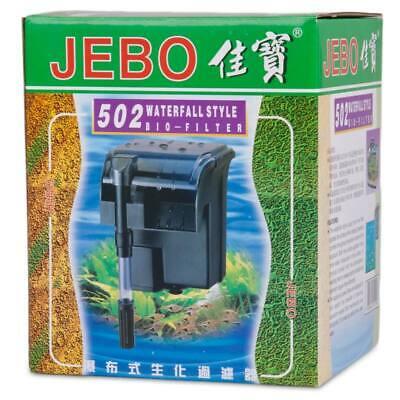 JEBO Aquarium Aussenfilter 502 Anhängefilter Hang on Filter Wasserfallfilter