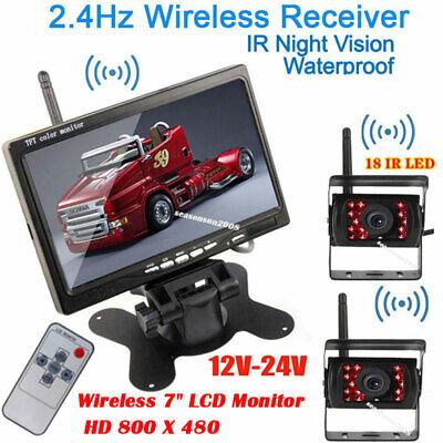 2x Wireless Backup Camera + 7