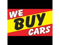 All unwanted scrap cars and vans wanted for cash on collection