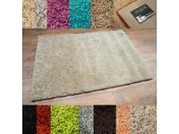 Shaggys Rugs Stock Clearance NEW 3 SIZES 12 COLOURS