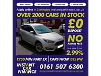 Ford Focus Zetec Hatchback 1.0 Manual Petrol GOOD/BAD CREDIT CAR FINANCE