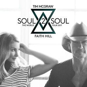 4 tickets Soul2Soul (Tim McGraw & Faith Hill) Toronto June 23
