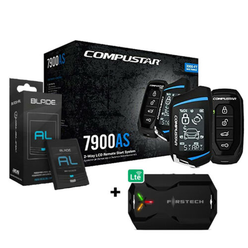 Compustar CS7900AS All-in-One 2-Way Remote Start & BladeAL Bypass + X1LTE Module