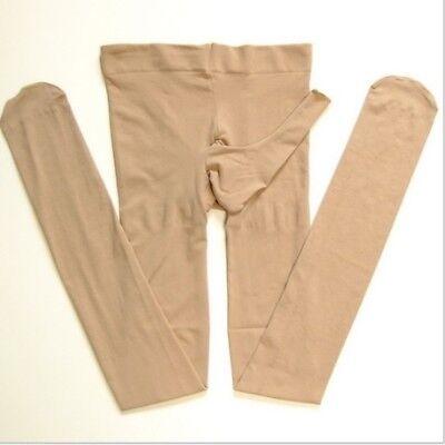 Männer Strumpfhosen Nylon Strumpf Strumpfhosen Frisch Scheide Offen Socken Neu