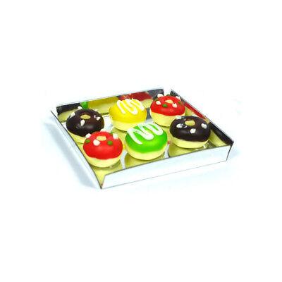 SA-Dollshouse D2390 Donuts auf dem Tablett 1:12 für Puppenhaus NEU!  #
