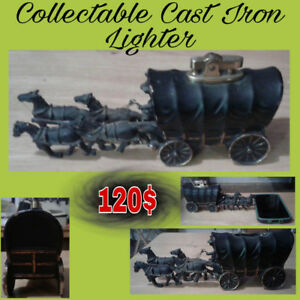 HORSE AND WAGON LIGHTER