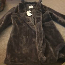 Ladies faux fur jacket by Yumi Brand new with tags RRP £100