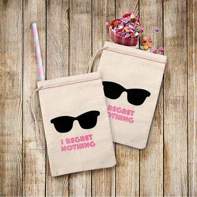 10 Bachelorette Party Bags Sunglass I Regret Nothing Hangover Kit Bags Hen Party (Bachelorette Party Kit)