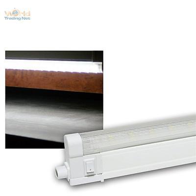 unterbauleuchte 30 63cm led warmwei 300 600lm k chenleuchte lichtleiste 230v ebay