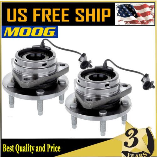 2 Front Moog Wheel Bearing Hub For Chevy Malibu Pontiac G6