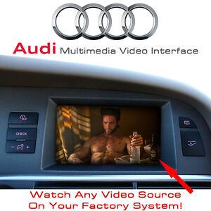 audi a4 a5 a6 a8 q5 q7 upto 2009 2g mmi screen multimedia. Black Bedroom Furniture Sets. Home Design Ideas