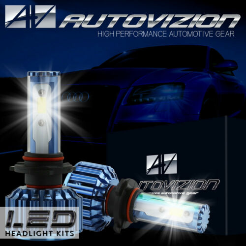 AUTOVIZION 488W CREE H13 9008 Hi/Lo beams LED headlight Kit 8000LM 6000K bulb P