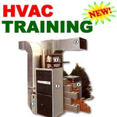 HEATING HVAC AIR CONDITIONING TRAINING COURSE MANUAL CD