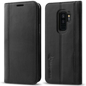 Samsung Galaxy S9 Plus Wallet Case [Genuine Leather] NEW $20