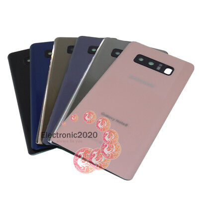 OEM Battery Back Door Glass Cover Camera Lens Cover For Samsung Galaxy Note 8 US ()