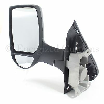 Ford Transit Van Mk7 2006 2014 Manual Short Arm Wing Door Mirror Passenger Side