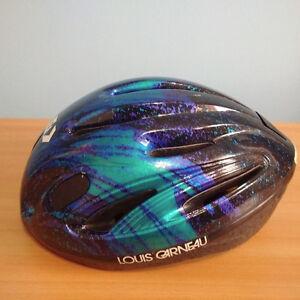 Louis Garneau Bike Helmet, Great Look - Adult Medium Sized