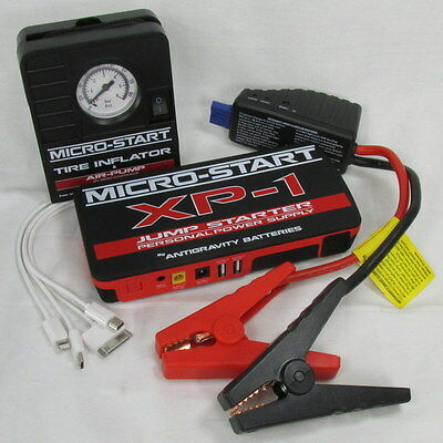 Emergency Roadside Auto Travel KIT Jump Starter Box TIRE INFLATOR Starts any car