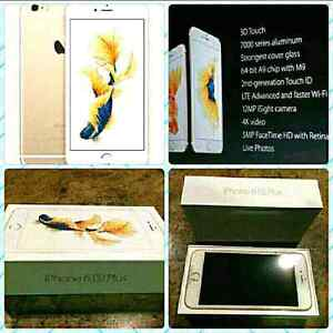 *NEW IN BOX GOLD IPHONE 6S+PLUS 64GB UNLOCKED APPLE WTY MARCH'17