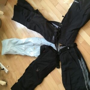 Variety of highend ski/snowboard pants for men and women
