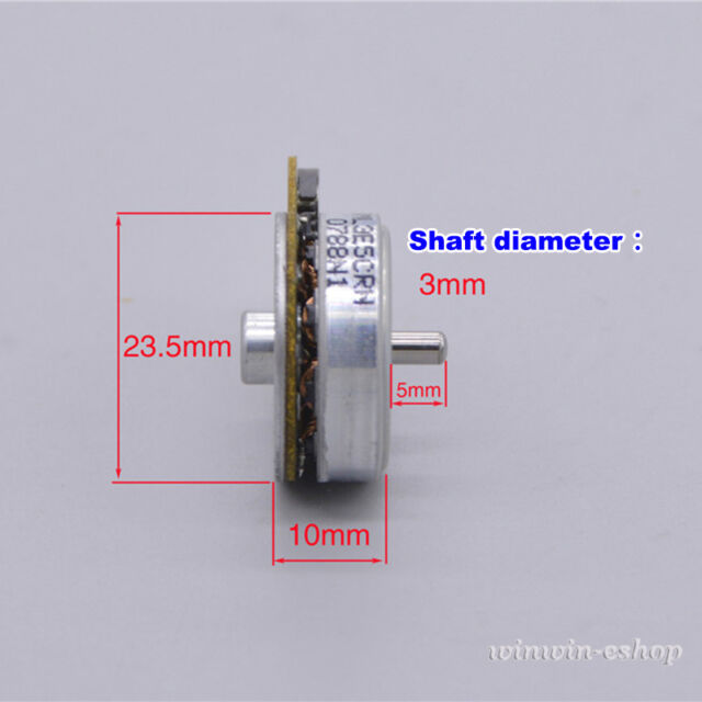 Micro Brushless Thin Motor DC11.1V 10430RPM 3-Phase External Outer Rotor For Toy