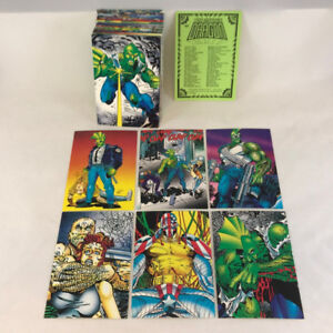 THE SAVAGE DRAGON (Comic Images/1992) Complete Trading Card Set