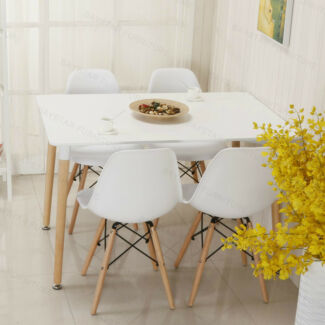 4/6 Chairs with 4/6/8 Seat Dining Table Set