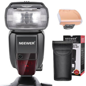 Neewer NW600-EX-RT Speedlight with wireless trigger set ~ Canon