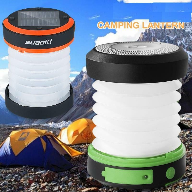 Solar Panel 800mah Rechargeable Lantern Light Torch Waterpro
