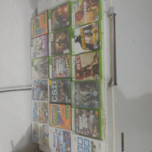 Xbox 360 and wii and kinect games for sale