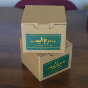 New/Sealed LL Magnetic Clay 'Clear Out' Bath Kit