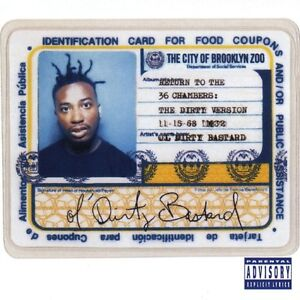 OL' DIRTY BASTARD Return To The 36 Chambers The Dirty Version CD NEW Old Dirty B