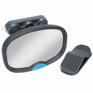 Brica Deluxe Stay-in-Place Mirror for Car