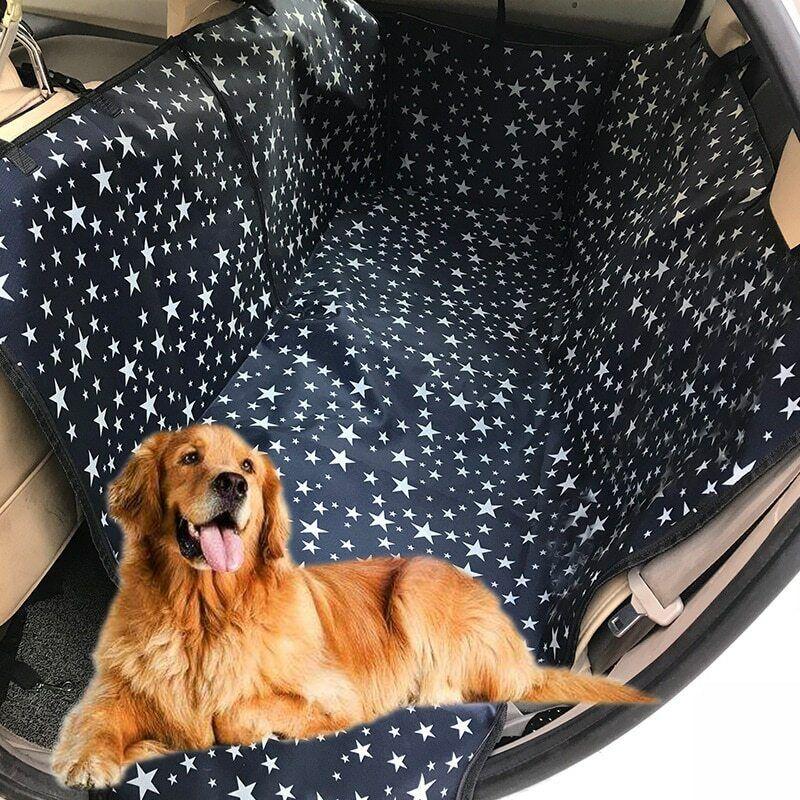 Waterproof Pet Dog Seat Hammock Cover Car Truck Back Rear  Mat Blanket Cushion