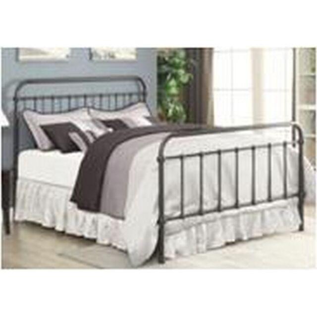 livingston metal bed eastern king bed dark bronze 300399ke - Eastern King Bed Frame