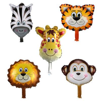 5pcs/Set Animal Foil Balloons Kids Party Baby Shower Birthday Decor Ballons Gift