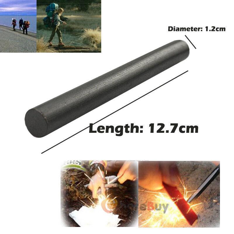 """5/"""" long 5//8/"""" Dia Bushcraft Ferrocerium rod// firesteel// ferro rod /""""Lil fatter/"""""""