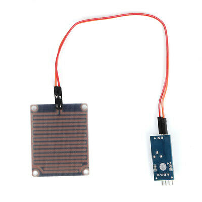 Rain Sensor Module Humidity Raindrop Weather Detection For Arduino