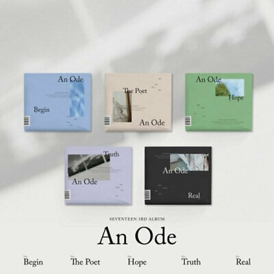 SEVENTEEN 3rd Album [AN ODE] CD Photobook Photocard  RANDOM VERSION