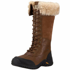 UGG Australia Cuir Adirondack Hiver Boots 7 Women Water proof