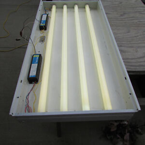 Four Lamp Troffer Fluorescent Lights