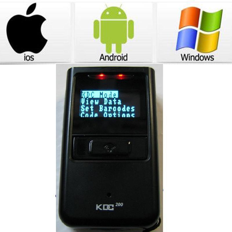 Koamtac KDC200i Mini Portable Wireless Bluetooth Barcode Scanner PC