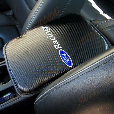 For Ford Focus Fiesta Carbon Car Center Console Armrest Cushion Mat Pad Cover X1 comprar usado  Enviando para Brazil