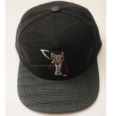 Smoking Animal Tiger Lion Panda Bear Premier Snapback - Panda Bear Hat